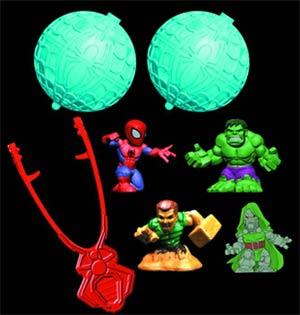 Spider-Man Spider Pods Starter Pack Case