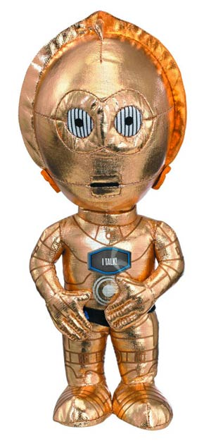 DO NOT USE (Item Cancelled) Star Wars C-3PO 9-Inch Talking Plush