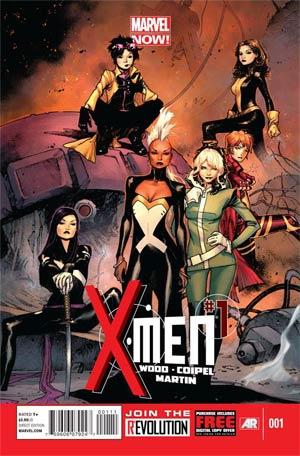 X-Men Vol 4 #1 Marvel Now Poster