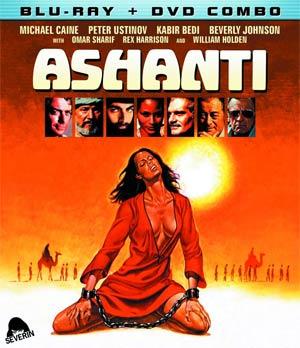 Ashanti Blu-ray Combo DVD
