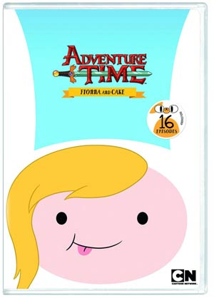 Adventure Time Vol 4 Fionna And Cake DVD