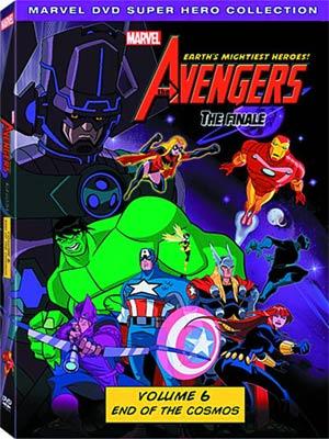 Avengers Earths Mightiest Heroes Vol 6 DVD