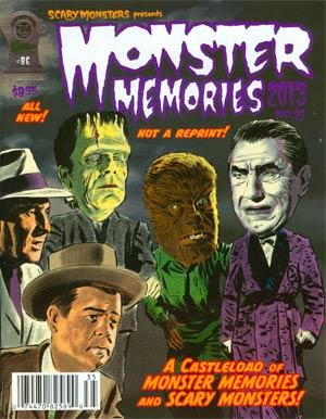 Scary Monsters Magazine #86 Monster Memories #21 2013