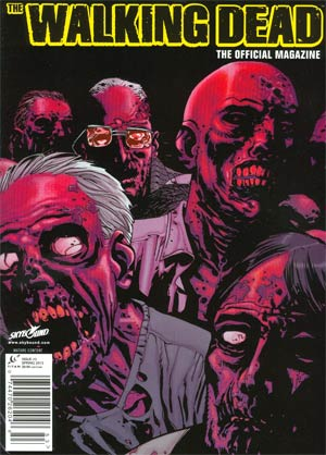 Walking Dead The Official Magazine #3 Previews Exclusive Edition