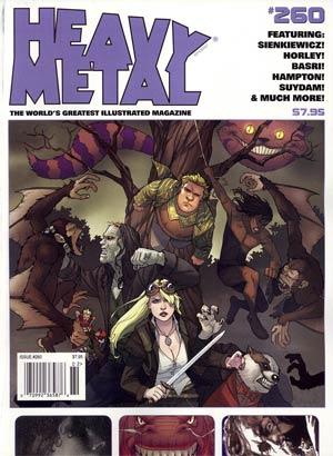 Heavy Metal #260