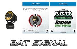 DC HeroClix Batman Streets Of Gotham Bat Signal 3D Object With Object Card