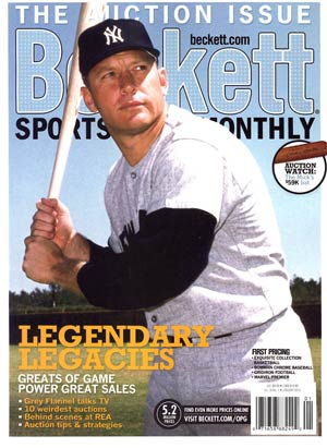 Beckett Sports Card Monthly #334 vol 30 #1 Jan 2013