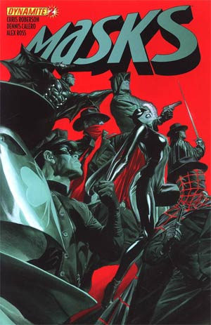 Masks #2 Regular Alex Ross Cover