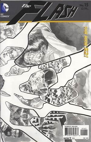 Flash Vol 4 #15 Incentive Francis Manapul Sketch Cover