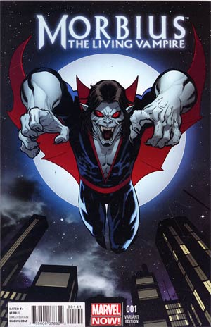 Morbius The Living Vampire Vol 2 #1 Incentive Ed McGuinness Variant Cover