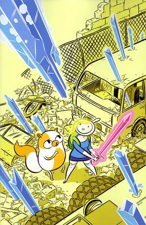 Adventure Time Fionna & Cake #1 Incentive Ethan Rilly Virgin Variant Cover