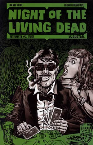 Night Of The Living Dead Aftermath #3 Incentive Terror Cvr