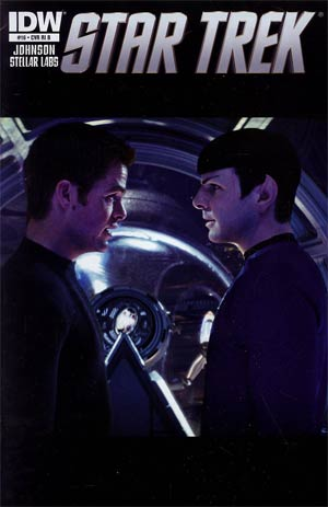 Star Trek (IDW) #16 Incentive Photo Variant Cover