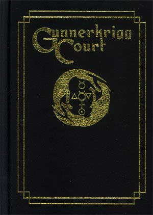Gunnerkrigg Court Vol 1 Orientation HC Leather Bound Edition