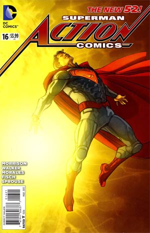 Action Comics Vol 2 #16 Variant Pasqual Ferry Cover