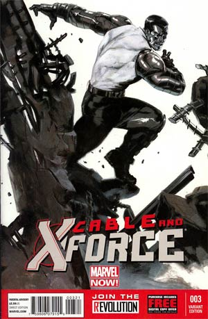 Cable And X-Force #3 Incentive Gabriele Dell Otto Variant Cover