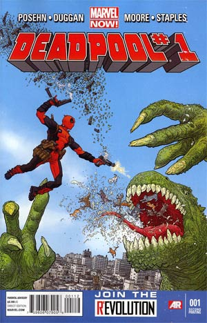 Deadpool Vol 4 #1 2nd Ptg Geof Darrow Variant Cover