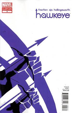 Hawkeye Vol 4 #3 2nd Ptg David Aja Variant Cover