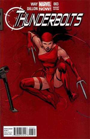 Thunderbolts Vol 2 #3 Incentive Billy Tan Variant Cover