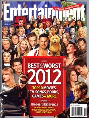 Entertainment Weekly #1239 Dec 28 2012 / #1240 Jan 4 2013