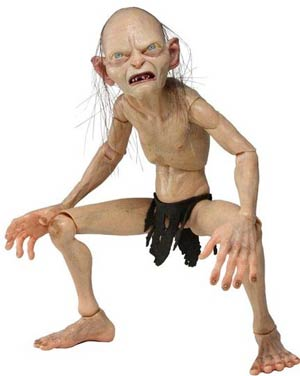 Lord Of The Rings Gollum 1/4 Scale Action Figure
