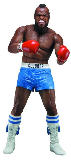 Rocky Series 3 Clubber Lang Blue Shorts 7-Inch Action Figure