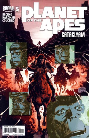 Planet Of The Apes Cataclysm #5 Regular Cover A Gabriel Hardman