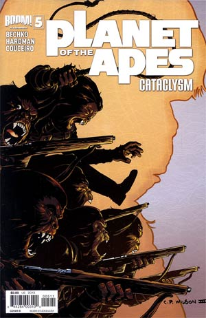 Planet Of The Apes Cataclysm #5 Regular Cover B Charles Paul Wilson III