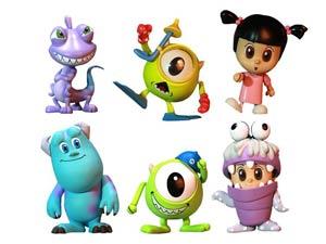 Monsters Inc Cosbaby 6-Piece Set
