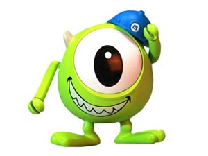 Monsters Inc Cosbaby - Mike