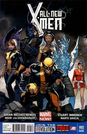 All-New X-Men #2 2nd Ptg Stuart Immonen Variant Cover