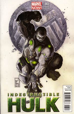 Indestructible Hulk #3 Incentive Simone Bianchi Variant Cover
