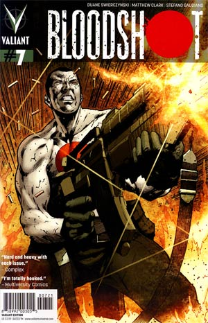 Bloodshot Vol 3 #7 Incentive Trevor Hairsine Variant Cover
