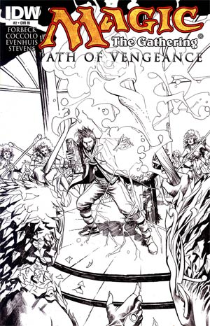 Magic The Gathering Path Of Vengeance #2 Incentive Martin Coccolo Variant Cover