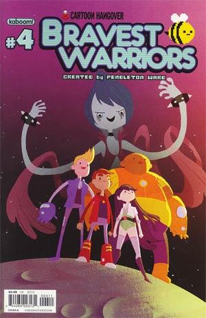 Bravest Warriors #4 Regular Cover B Victoria Ying