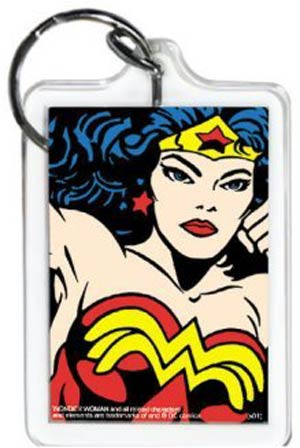 Wonder Woman Close-up Keychain (65062KEY)