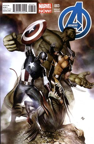 Avengers Vol 5 #3 Incentive Adi Granov Variant Cover