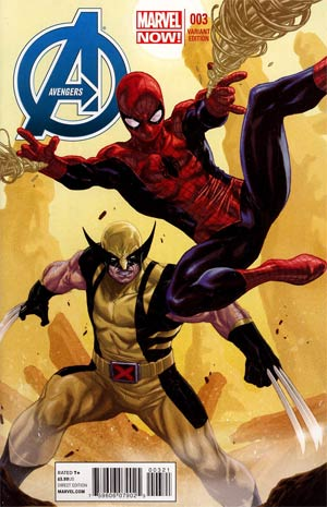 Avengers Vol 5 #3 Incentive Mark Brooks Variant Cover
