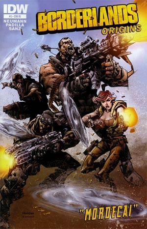 Borderlands Origins #3 Incentive Jose Holder Variant Cover
