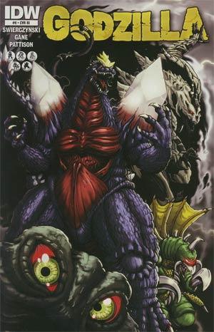 Godzilla Vol 2 #9 Cover B Incentive Matt Frank Variant Cover