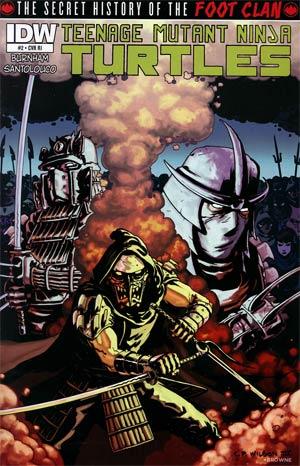 Teenage Mutant Ninja Turtles Secret History Of The Foot Clan #2 Incentive Charles Paul Wilson III Variant Cover