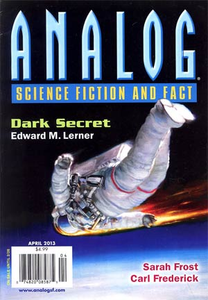 Analog Science Fiction And Fact Vol 133 #4 Apr 2013