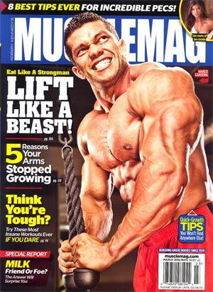 Muscle Mag #370 Mar 2013