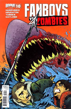 Fanboys vs Zombies #10 Regular Cover B Dominike Domo Stanton