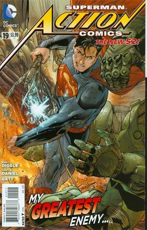 Action Comics Vol 2 #19 Regular Tony S Daniel Cover