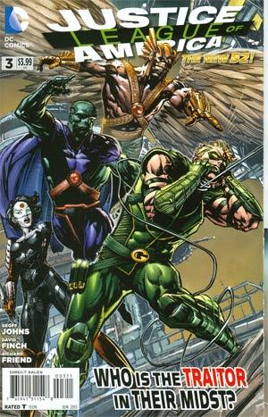 Justice League Of America Vol 3 #3 Regular David Finch Cover