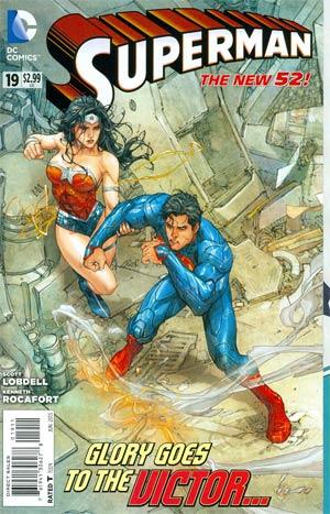 Superman Vol 4 #19 Regular Kenneth Rocafort Cover