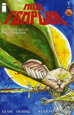 Mice Templar Vol 4 Legend #1 Cover A Michael Avon Oeming