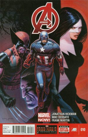 Avengers Vol 5 #10 Regular Mike Deodato Jr Cover