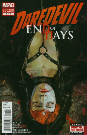 Daredevil End Of Days #7 Regular Alex Maleev Cover